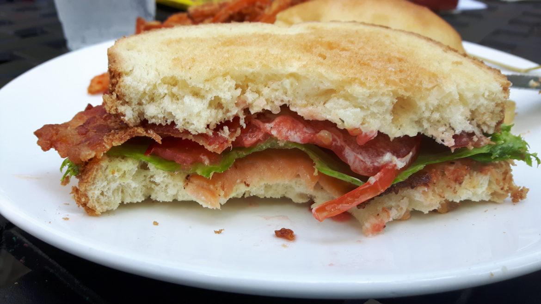 Foto eines Sandwiches