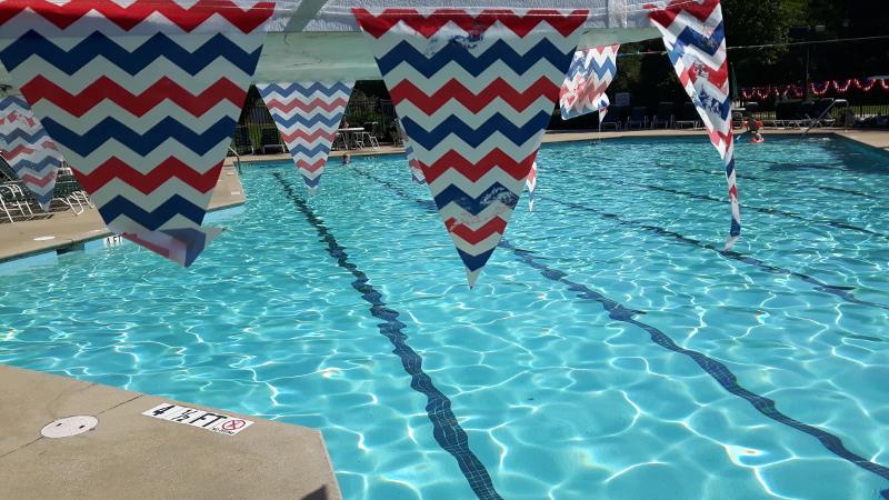 Foto von einem Pool
