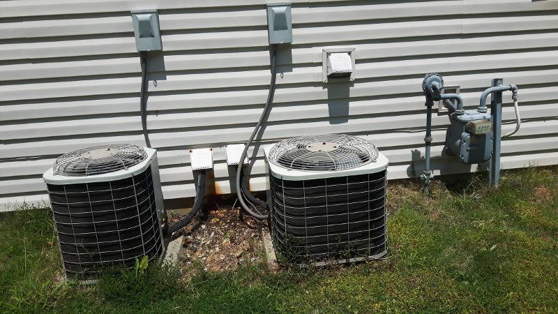 Foto einer Klimaanlage