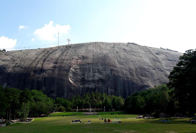 Foto von Stone mountain