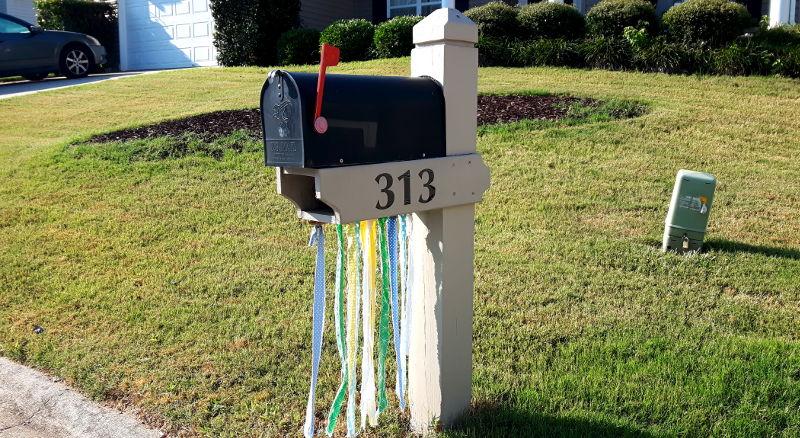 Foto von einem Briefkasten