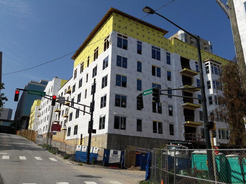 Foto von einer Baustelle