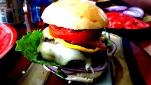 Bild von einem Hamburger