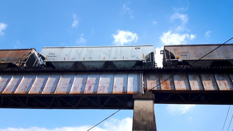 Foto von einem Güterzug