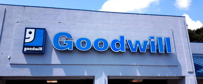 Foto von einem Goodwill-Store