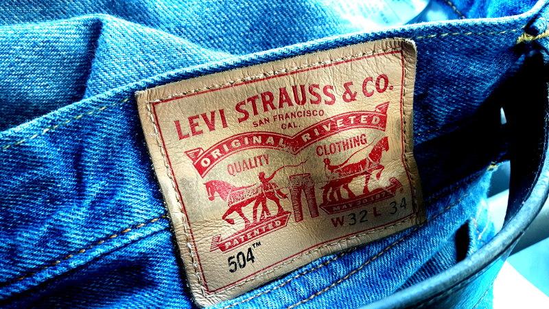 Foto von Levi's Jeans Logo