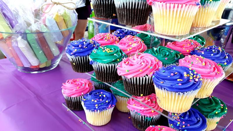 Foto von Cupcakes