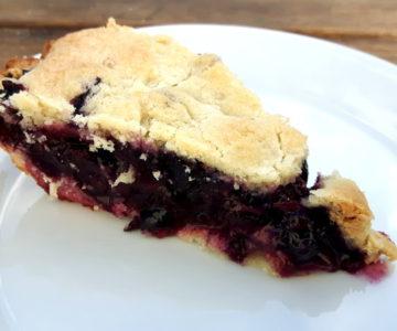 Foto von Blueberry Pie