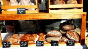 Foto von einem Brotverkauf