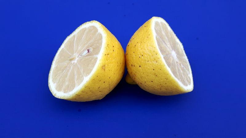 Foto von einer Zitrone