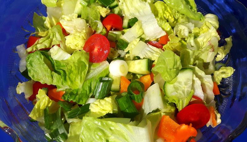 Bild von Salat