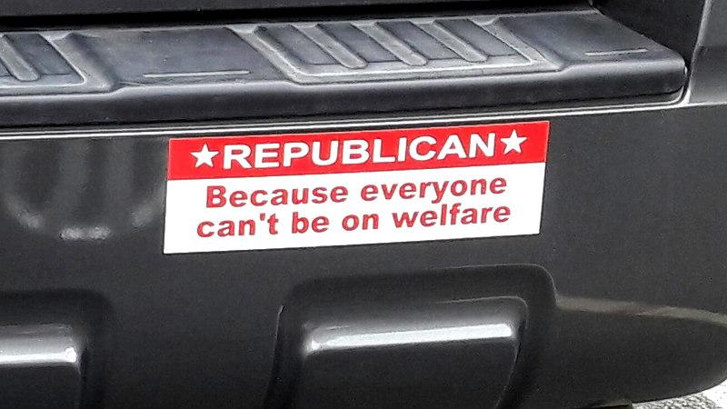 Foto von einem Sticker