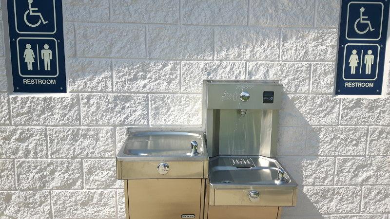 Foto von Trinkwasserbrunnen