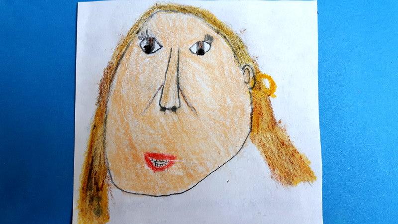 Zeichnung von Stacy