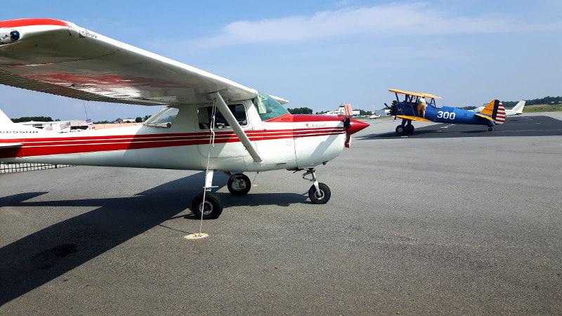 Foto von Flugzeugen