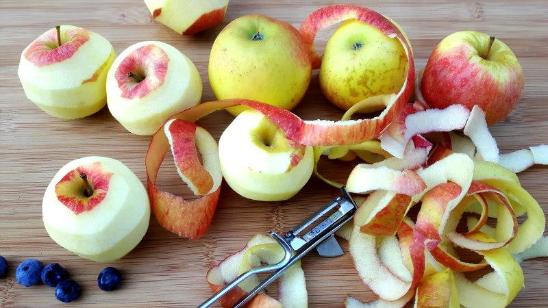 Foto von Äpfeln