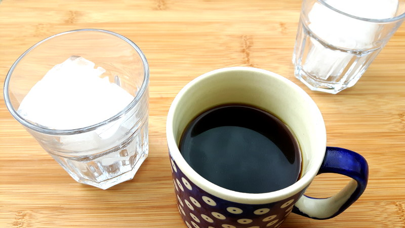Foto von schwarzem Kaffee
