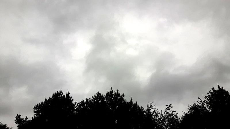 Foto von düsterem Himmel