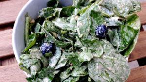 Foto von Spinach Salad