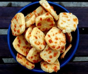 Foto von Cheese Cracker