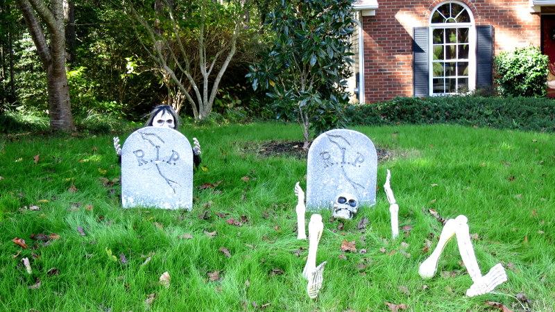 Foto von Halloweendekoration