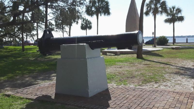 Foto von einer Kanone