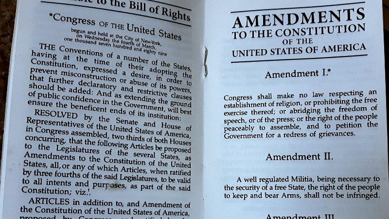 Foto von Bill of Rights