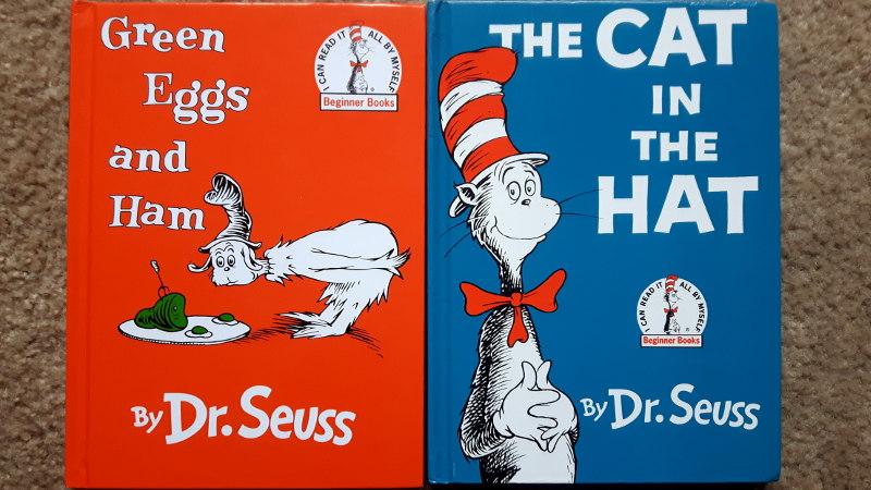 Foto von Dr. Seuss Büchern