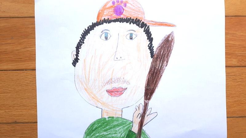 Zeichnung von Jordan