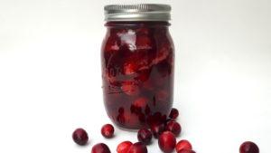 Foto von Cranberry Sauce