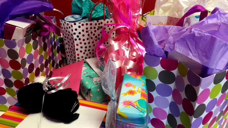 Fotos von Geschenken