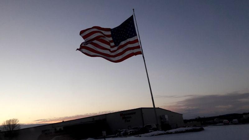 Foto von amerikanischer Flagge