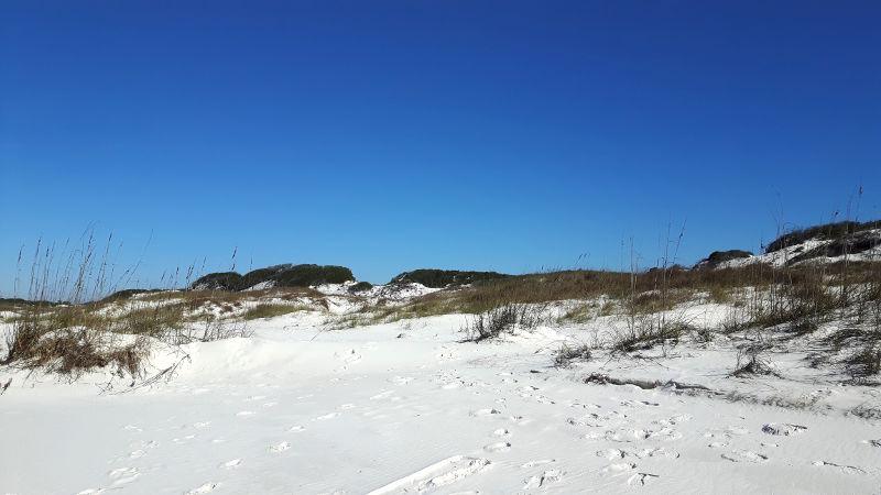 Foto von weißem Sandstrand