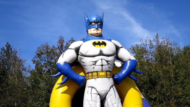 Foto von aufblasbarem Batman