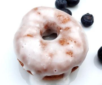 Foto von glasiertem Donut