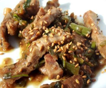 Foto von Mangolian Beef