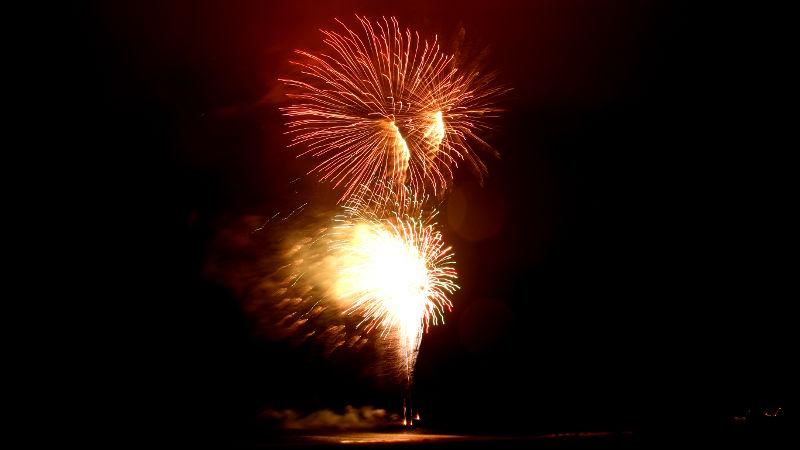 Foto von Feuerwerk