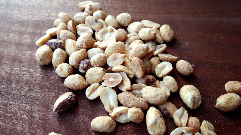 Foto von Erdnüssen