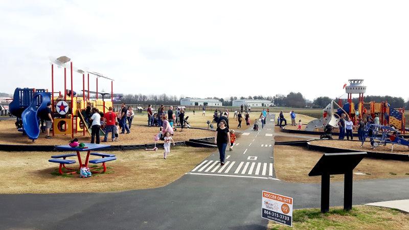 Foto von Spielplatz